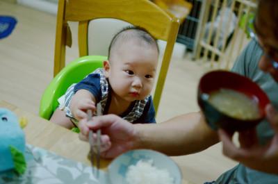 yuki 離乳食1
