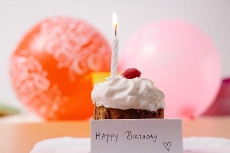 一歳のお祝いケーキ