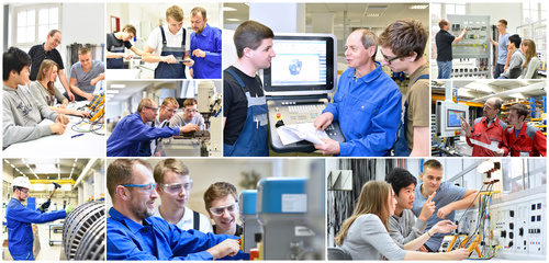 Berufsausbildung in der Industrie und Handwerk // Engineering education - trainers, students and trainees