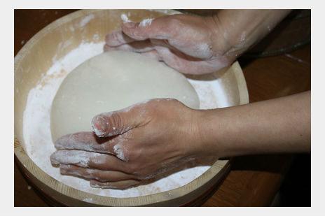 手作りの一升餅